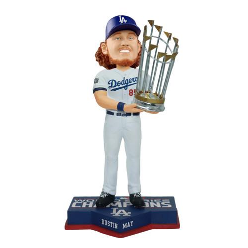 "Dustin May Los Angeles Dodgers 2020 World Series Champions 8"" Bobblehead Bobble Head Doll"