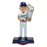 """Enrique Kiké Hernández Los Angeles Dodgers 2020 World Series Champions 8"""" Bobblehead Bobble Head Doll"""