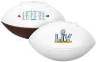 Road to the Super Bowl LV 55 Official Size Souvenir Football in Box
