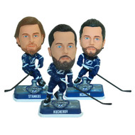 Tampa Bay Lightning 2020 Stanley Cup Champions Mini Bobbleheads 3-pack Set