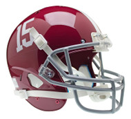 Alabama Crimson Tide #15 Schutt Full Size Replica XP Football Helmet