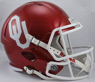 Oklahoma Sooners Replica Full Size Speed Football Helmet