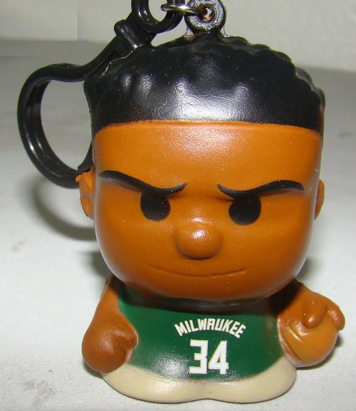 Milwaukee Bucks Giannis Antetokounmpo #34 NBA Series 1 SqueezyMates Figurine