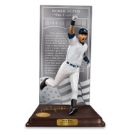 DEREK JETER Home Pinstripe HALL OF FAME LIMITED COLLECTORS EDITION SCULPTURE by Danbury Mint