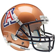 Arizona Wildcats Copper Schutt Full Size Replica Football Helmet