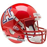 Arizona Wildcats Scarlet Pearl Schutt Full Size Replica Football Helmet