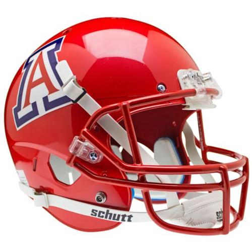 Arizona Wildcats Scarlet Pearl Schutt Full Size Replica Football Helmet