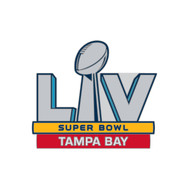 Super Bowl LV (55) Tampa Bay Logo Commemorative Lapel Pin