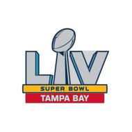 Super Bowl LV (55) Tampa Bay Logo Commemorative Lapel Pin
