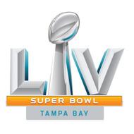 "2021 Super Bowl LV (55) 2"" Jumbo Logo Pin on Pin"