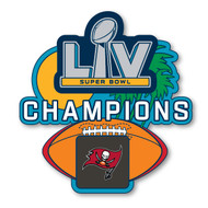 Tampa Bay Buccaneers Super Bowl LV 55 Champions Commemorative Lapel Pin