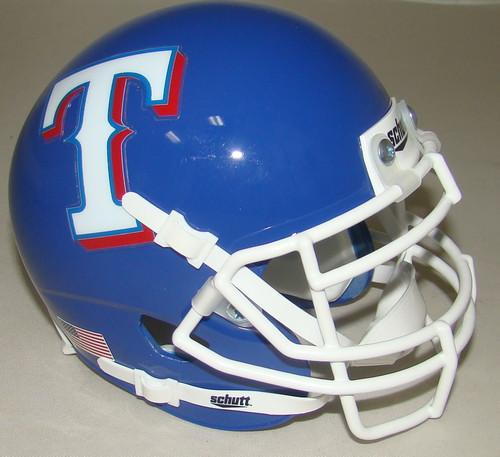 Texas Rangers Schutt Mini FOOTBALL Helmet