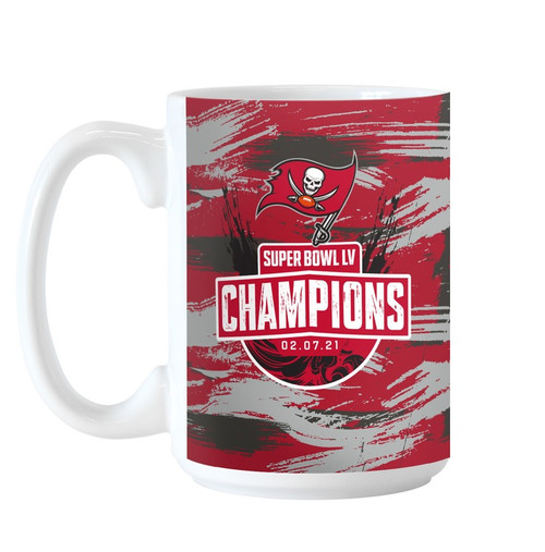 Tampa Bay Buccaneers Super Bowl LV 55 Champions Team ROSTER 15 oz. Coffee Mug