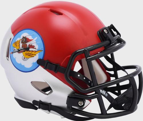 Air Force Falcons Tuskegee 301st Limited Edition NCAA Mini Speed Football Helmet