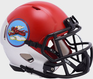 Air Force Falcons Tuskegee 302nd Limited Edition NCAA Mini Speed Football Helmet