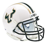 South Florida Bulls Alternate White Schutt Mini Authentic Helmet