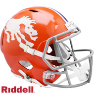 Denver Broncos 1966 Throwback SPEED Riddell Full Size Replica Football Helmet