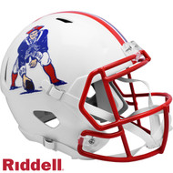 New England Patriots 1990 to 1992 Throwback SPEED Riddell Full Size Replica Football Helmet