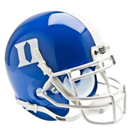 Duke Blue Devils Alternate Blue Schutt Mini Authentic Helmet