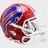 Buffalo Bills 1987-2001 Throwback SPEED Riddell Full Size Replica Football Helmet