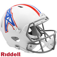 Houston Oilers 1975-80 Throwback SPEED Riddell Full Size Replica Football Helmet