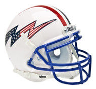 Air Force Falcons Alternate White Schutt Mini Authentic Helmet