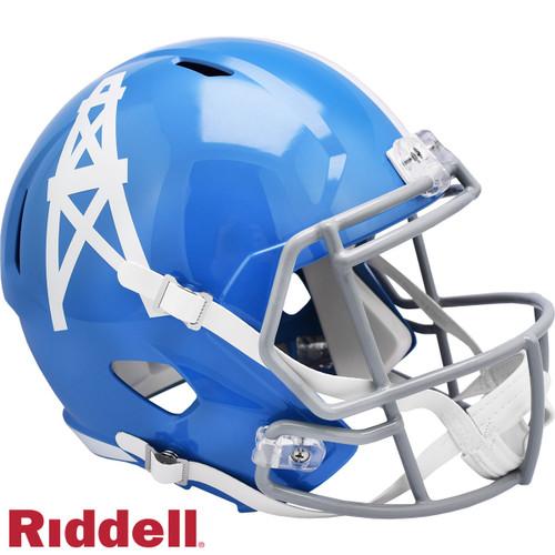 Houston Oilers 1960-62 Throwback SPEED Riddell Full Size Replica Football Helmet