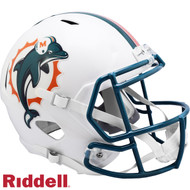 Miami Dolphins 1996 to 2012 Throwback SPEED Riddell Full Size Replica Football Helmet