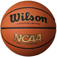 """Wilson NCAA March Madness Final Four Edition Official Size 29.5"""" Composite Basketball"""