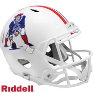 New England Patriots 1982 to 1989 Throwback SPEED Riddell Full Size Replica Football Helmet