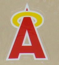 Anaheim California Angels FULL SIZE HELMET 3M STICKER DECAL