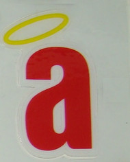 Anaheim California Angels FULL SIZE HELMET 3M STICKER DECAL - Little a