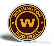 NFL Washington Football Team 3D Fan Foam Logo Sign