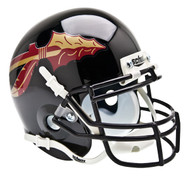 Florida State Seminoles Alternate Black Schutt Mini Authentic Helmet