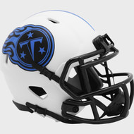 Tennessee Titans Lunar White Revolution Speed Mini Football Helmet