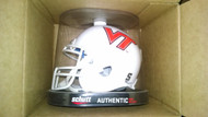 Virginia Tech Hokies ALTERNATE WHITE Schutt Mini Authentic Helmet
