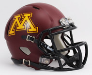 Minnesota Golden Gophers NCAA Riddell Speed Mini Helmet