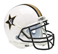 Vanderbilt Commodores Alternate White Schutt Mini Authentic Helmet