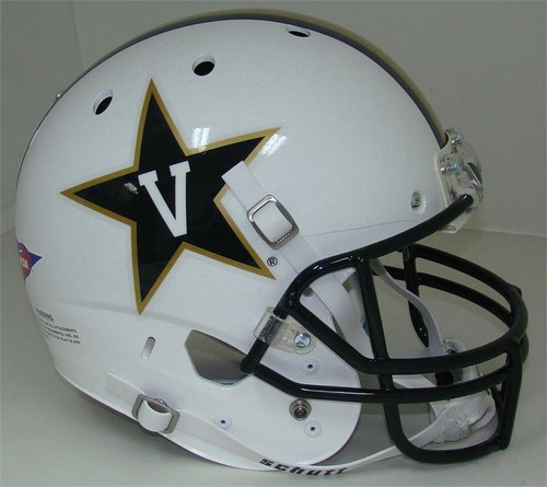Vanderbilt Commodores Alternate White Schutt Full Size Replica XP Football Helmet