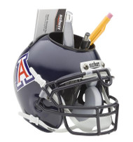 Arizona Wildcats (Navy) Mini Helmet Desk Caddy by Schutt
