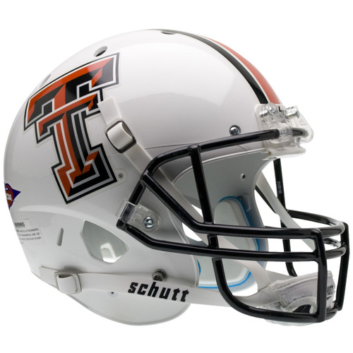 Texas Tech Red Raiders Alternate White Schutt Full Size Replica XP Football Helmet