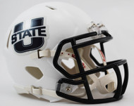 Utah State Aggies Revolution NCAA SPEED Mini Helmet