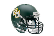Baylor Bears Green Matte Schutt Full Size Replica Helmet