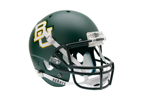 Baylor Bears Green Matte Schutt Full Size Replica XP Football Helmet