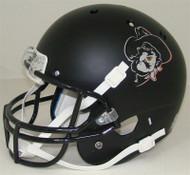 Oklahoma State Cowboys Black Matte Pistol Pete Schutt Full Size Replica Helmet