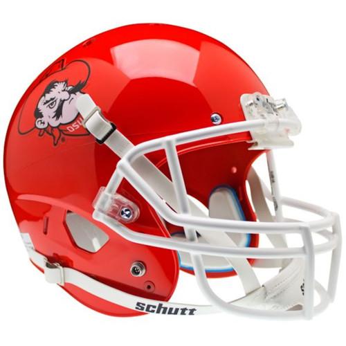Oklahoma State Cowboys Orange Pistol Pete Schutt Full Size Replica XP Football Helmet