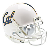Cal Berkeley Golden Bears Alternate White Schutt Mini Authentic Helmet