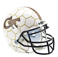 Georgia Tech Yellow Jackets Alternate Honeycomb Schutt Mini Authentic Helmet