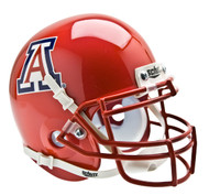 Arizona Wildcats Alternate Pearl Scarlet Schutt Mini Authentic Helmet