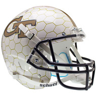 Georgia Tech Alternate Honeycomb Schutt Full Size Replica XP Football Helmet